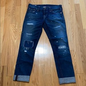 "True Religion ""Cameron"" distressed Jeans"